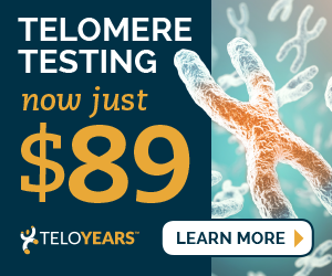 Telomers - Aging and Longevity, how to determine you DNA age.